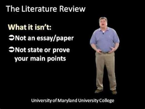 CHAPTER FIVE RESEARCH METHODS: THE LITERATURE REVIEW